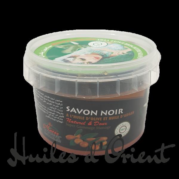 savon noir huile d'olive et huile d'argan