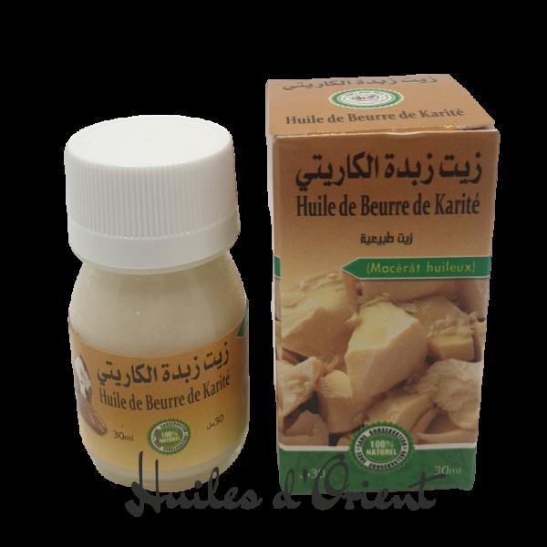 huile beurre de karité